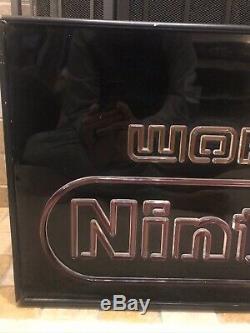World of Nintendo Superbrite withSeal Retail Store Display Sign Vintage M36N